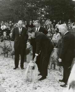 UCF Groundbreaking on March 19, 1967