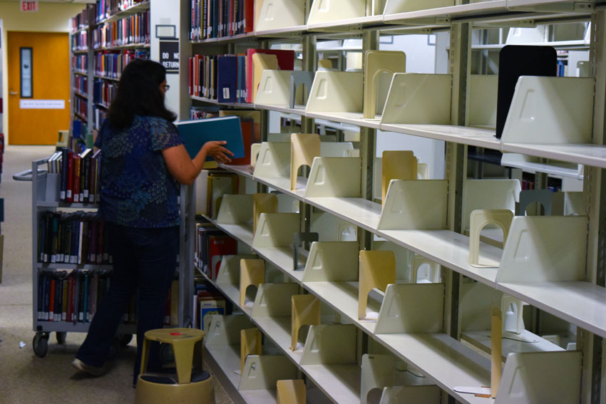 Shifting Books in the Library