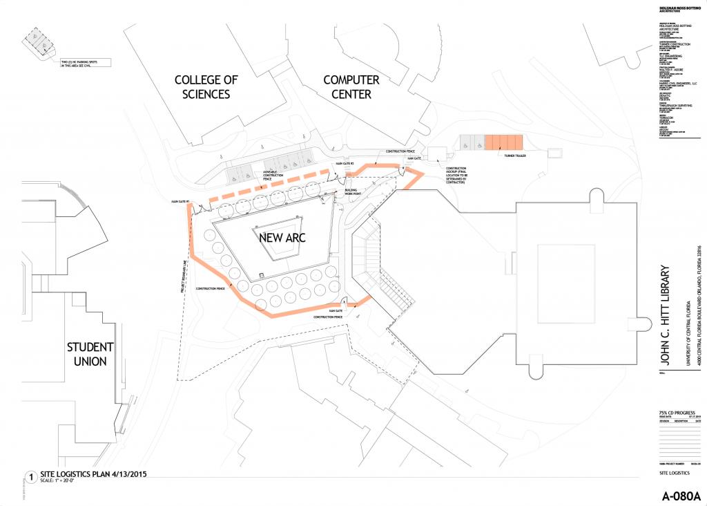 UCF ARC logistics plan