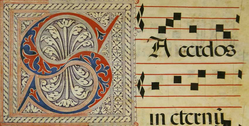 Page from the Spanish Antiphonary c. 1520-1560