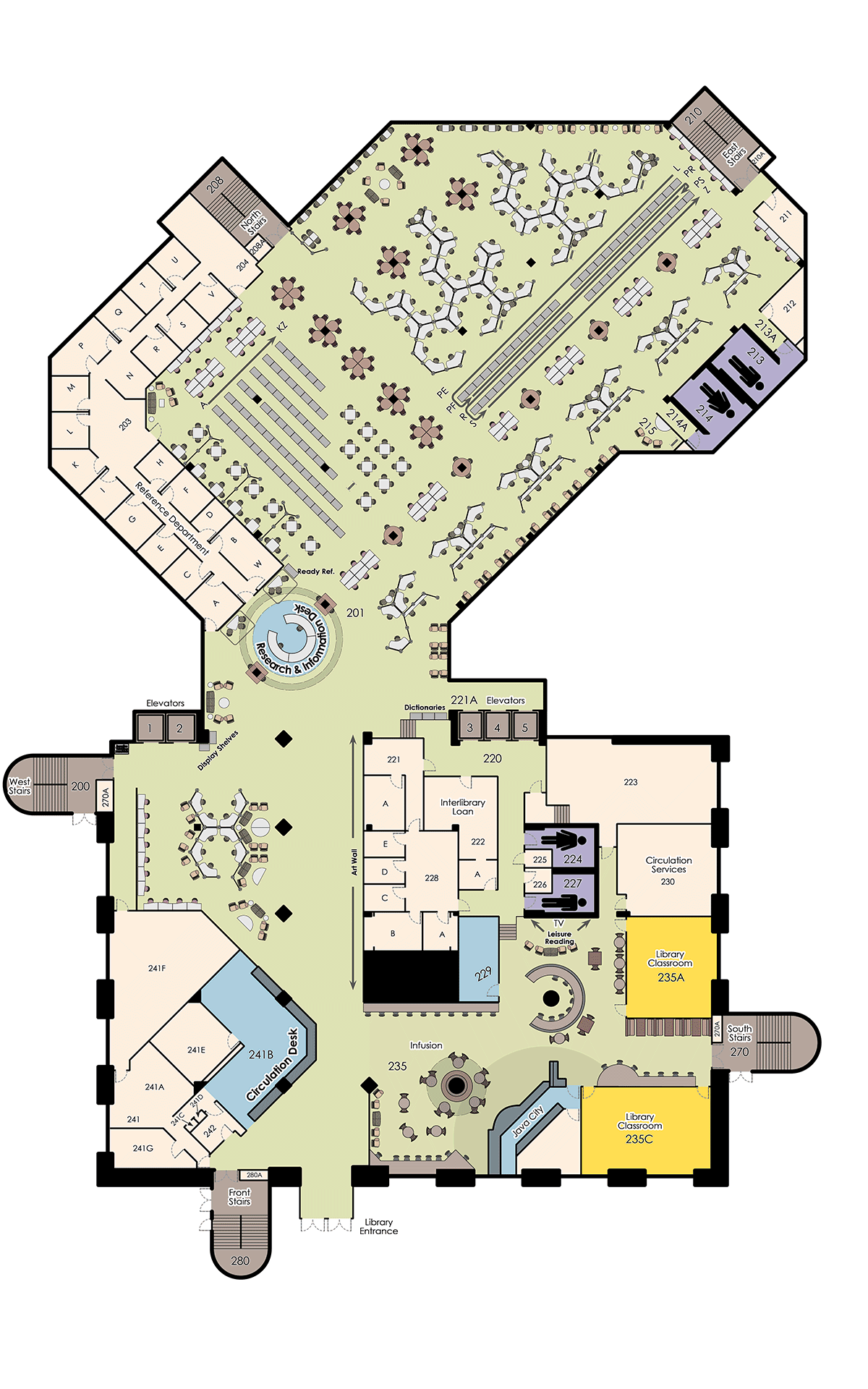 Maps addresses ucf libraries for Floor plan book