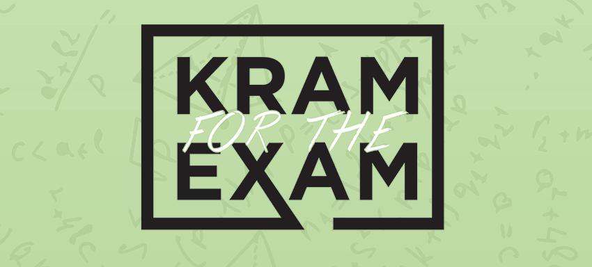 Kram for the exam