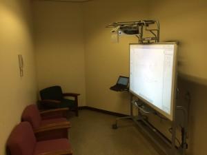 Interactive Whiteboard Study Area