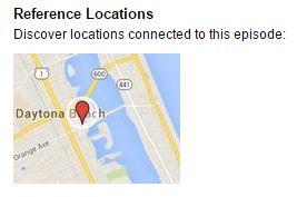 podcast google map