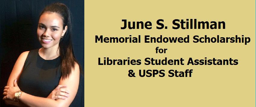 Melissa Franco, 2016 recipient of June Stillman Scholarship