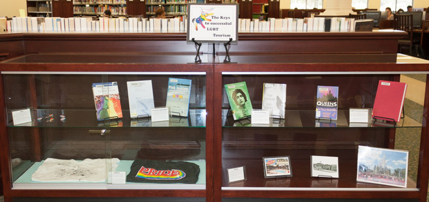 LGBT Tourism Exhibit - Rosen Library