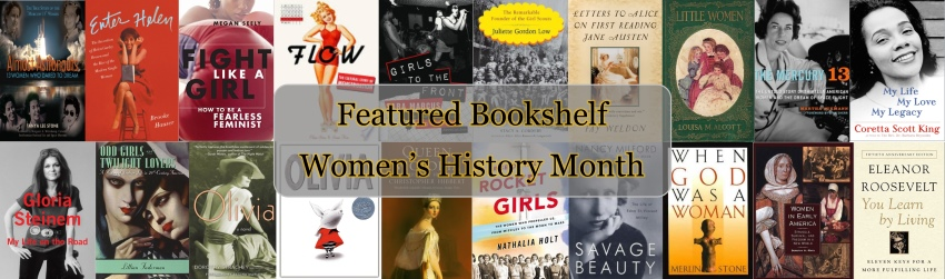 Featured Bookshelf: Women's History Month