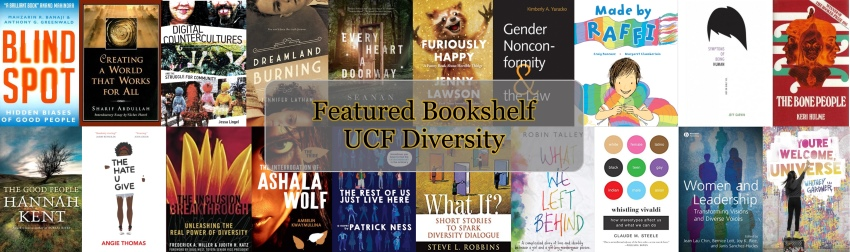 UCF Celebrates Diversity Featured Bookshelf book covers