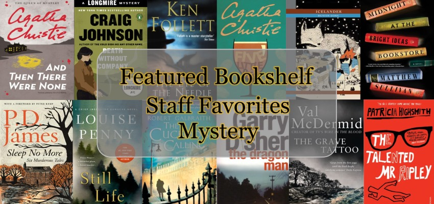 Featured Bookshelf Staff Favorites Mystery