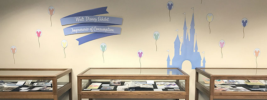 Walt Disney Exhibit 'til 1/2018