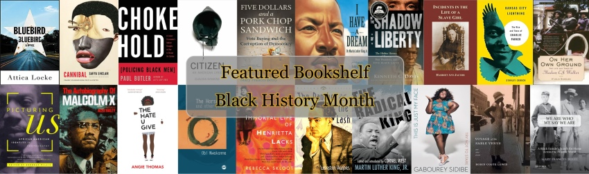Featured bookshelf Black History Month 2018