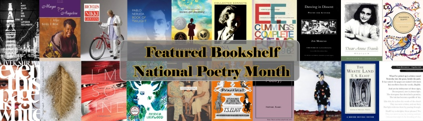 April 2018 Featured Bookshelf: National Poetry Month