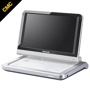 Portable Blu-ray player at the CMC