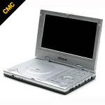 Portable DVD player at the CMC