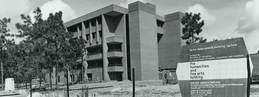 Colbourn Hall in 1971