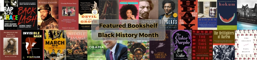 Book Covers for the 2019 Black History Month Featured Bookshelf