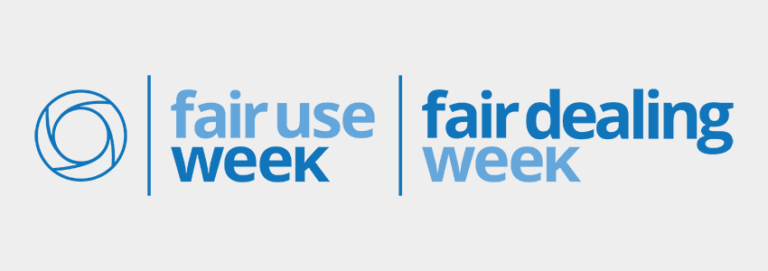 Fair Use / Fair Dealing Week banner