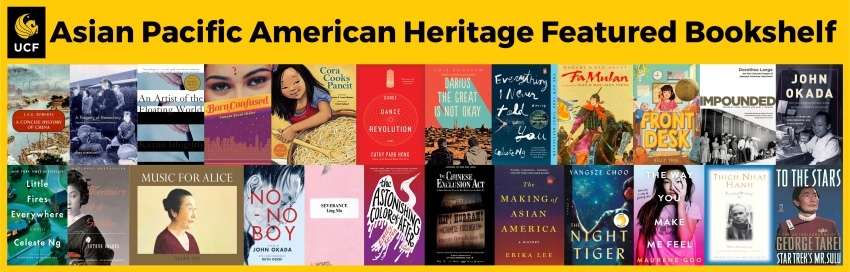 2019 Asian Pacific American Heritage Featured Bookshelf