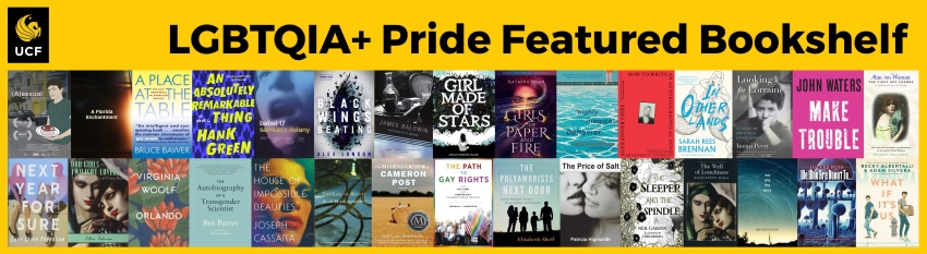 June 2019 LGBTQIA+ Pride Month Featured Bookshelf