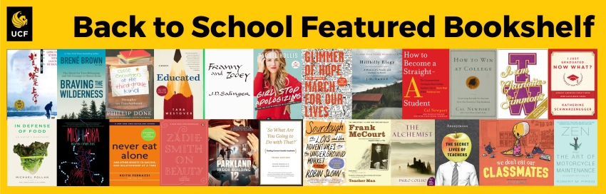 Featured Bookshelf for August 2019 Back to School