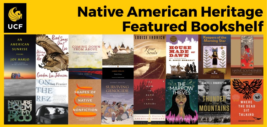 Native American Heritage Featured Bookshelf 2019