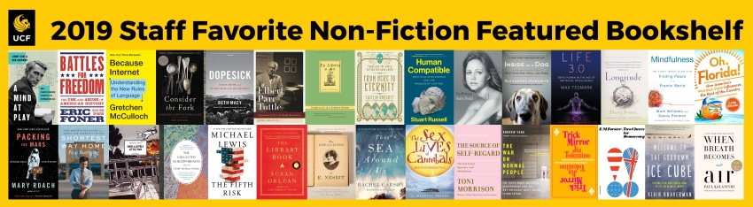 Featured Bookshelf: 2019 Staff Favorite Non-Fiction