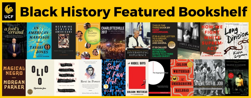 Black History Month Featured Bookshelf 2020