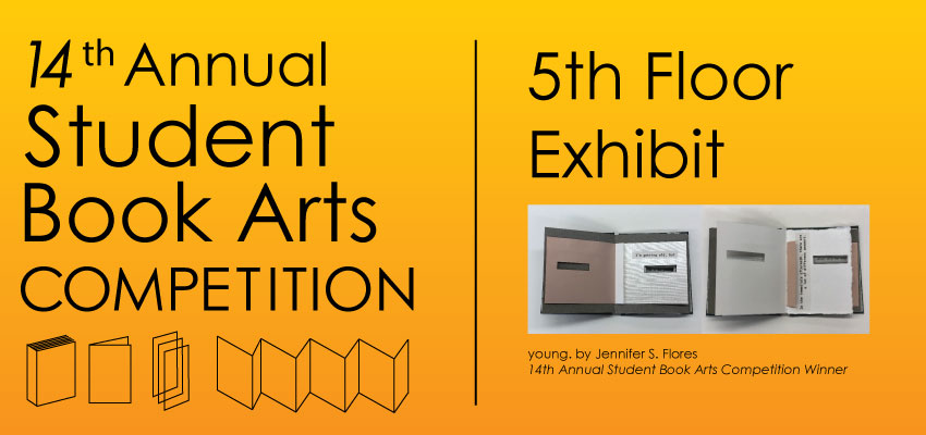 14th Annual Student Book Arts Competition