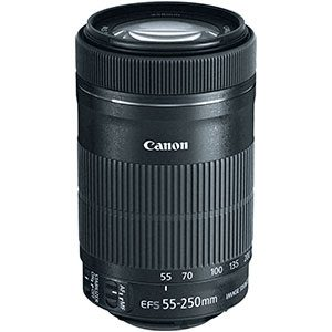 Canon 55-250mm Telephoto Lens