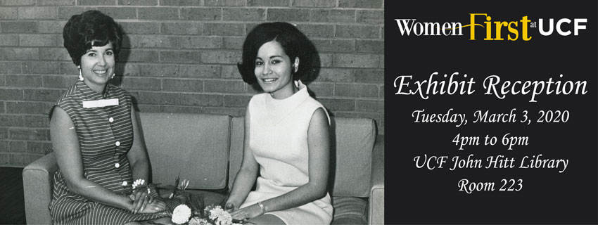 Women First at UCF Exhibit