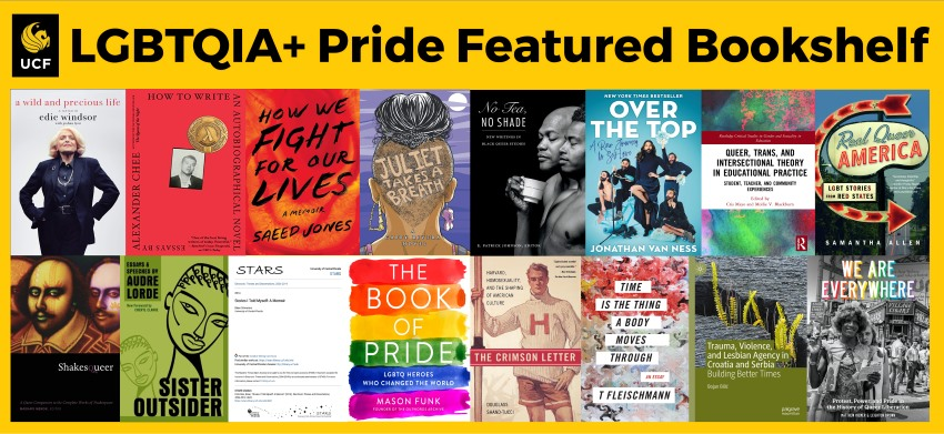 LGBTQIA+ Pride Featured Bookshelf