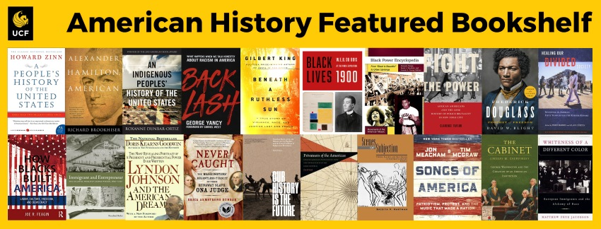 American History Featured Bookshelf - July 2020