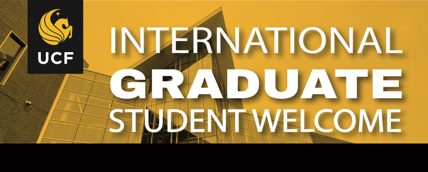 International Graduate Student Welcome