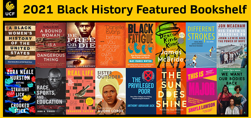 2021 Black History Featured Bookshelf