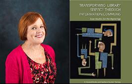 Barbara Tierney and book