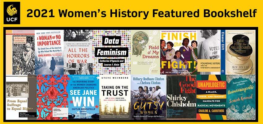 2021 Women's History Featured Bookshelf