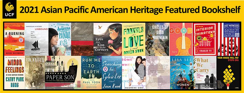 2021 Asian Pacific American Heritage Featured Bookshelf