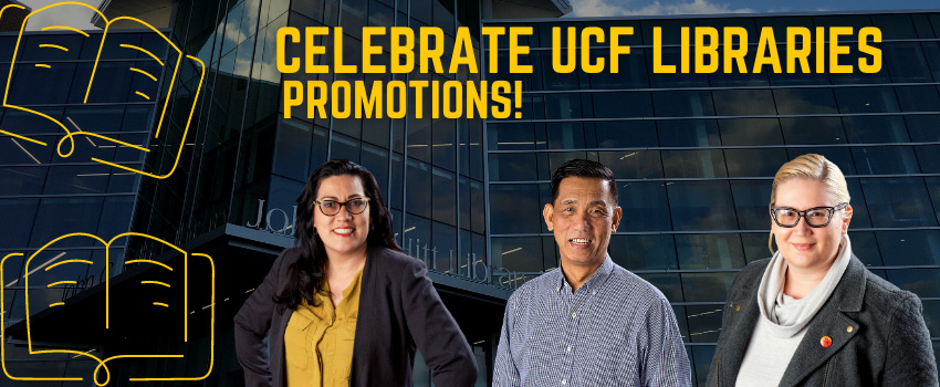 Celebrate UCF Libraries Promotions