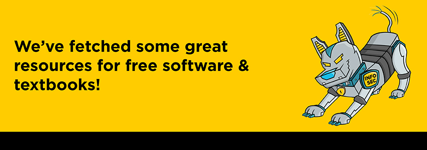We've fetched some great resources for free software & textbooks!