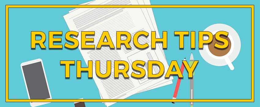 Research tips thursday